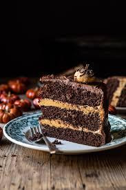 Light Peanut Butter Cake Pumpkin Patch Chocolate Peanut Butter Cake