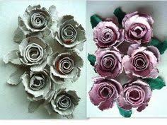Recycled Flower Paper Egg Carton Roses How To Diy Recycle Paper Flowers Paper