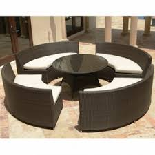 buy source outdoor circa all weather wicker 5 piece conversation set buy source outdoor circa