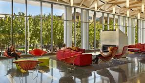 space furniture chairs. Residence Hall Community Space With Bertoia Bird And Diamond Chairs, Maya Lin Stones Pfister Furniture Chairs