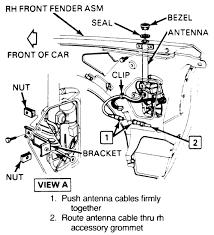 repair guides exterior power antenna autozone com Car Power Antenna Wiring Diagram at Gm Power Antenna Wiring Diagram