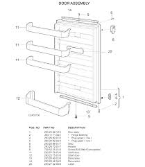 samsung refrigerator parts india door shelf replacement fridge 1 st distributors breakdown refrigerators repair
