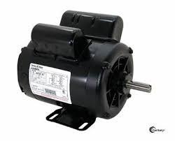 b century hp spl air compressor motor vac rpm  b385 century 5 hp spl air compressor motor 208