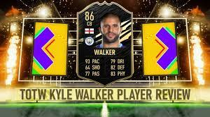 FIFA 21 | TOTW WALKER (86) PLAYER REVIEW - YouTube