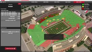Nebraska Memorial Stadium Seating Chart Rows 80 Studious Nebraska Husker Stadium Seating Chart