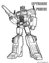 Small Picture transformers optimus prime 2 Coloring pages Printable