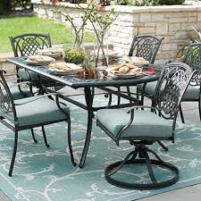 metal patio furniture. Delighful Patio Patio Table Chairs Metal Furniture Sets Pieces The Home Depot Intended R