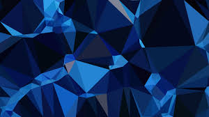 Black And Blue Design Black And Blue Low Poly Abstract Background Design Vector