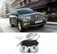 2006 Toyota Highlander Fog Light Kit Details About Bumper Lens O Lamps Fog Light Assembly Replacement For Toyota Highlander 11 13