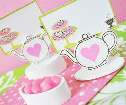 Why Place Cards At The Tea Party Are Important Tea Party Girl