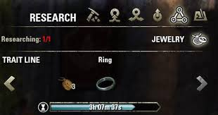 jewelry crafting traits in eso