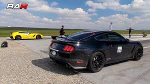 All Chevy chevy c7 : F1a Procharged Shelby GT350 Battles Chevy Corvette C7 Z06