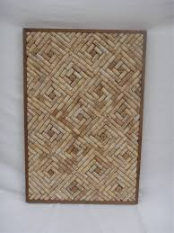 Neat design for Wine Cork cork board with champagne cork centers