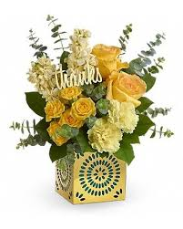 teleflora s shimmer of thanks bouquet