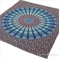 bohemian mandala tapestry wall hanging boho hippie bedspread queen double