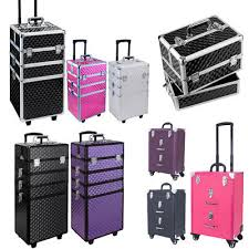 profession beauty vanity box makeup cosmetic nail hairdresser train case trolley