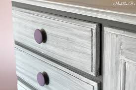Grey washed Chalk Paint Dresser Makeover The Inspired Hive