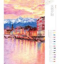 booculchaha feile bird color pencil landscape drawing book