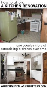 Remodeling A Kitchen How To Afford A Kitchen Remodel