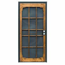 commercial door security bar. Prime-Line Woodguard Steel Security Door Commercial Bar F