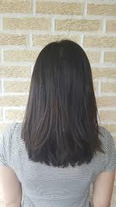 Cute Lazy Medium Length Dark Brown Layered Hair 2019
