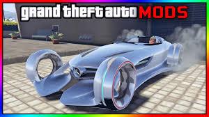 GTA V - Mercedes Benz Silver Lightning MOD. (GTA V PC MOD Mercedes ...
