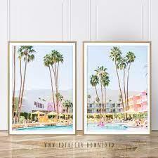 prints palm tree saguaro hotel palm