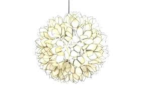 style lamps lotus flower chandelier classical fabric lamp rustic casual romantic decoration