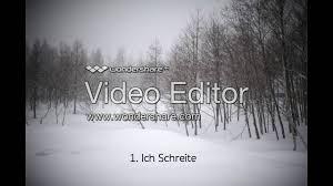 paysage d hiver winterkälte