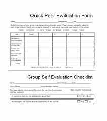 Free Self Evaluation Examples Work Sample Performance Review
