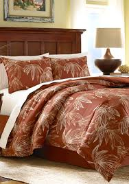 tommy bahama cayo coco full queen duvet set red uni bed bath bedding
