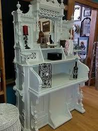 repurposed antique furniture. Beautiful Unique Shabby Chic Antique Winsor Pump Organ Vanity/Bookcase Or Bar Repurposed Furniture R