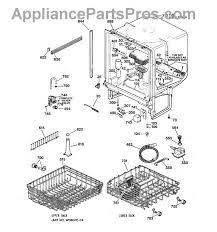 ge dishwasher diagram simple wiring diagram site ge wd1x1459 housing terminal insulator appliancepartspros com ge dishwasher gldt690tww diagram ge dishwasher diagram