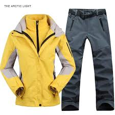 <b>TRVLWEGO Outdoor</b> Moutain Women Waterproof Skiing <b>Ski</b>-<b>wear</b> ...