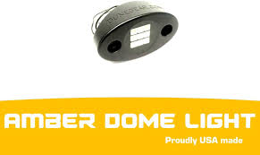 Amazon Com Billet Led Dome Light Rock Lights Usa Made Flat