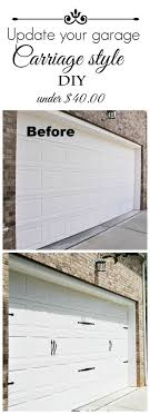 Faux Garage Door Hardware Best 25 Garage Door Hardware Ideas Only On Pinterest Garage
