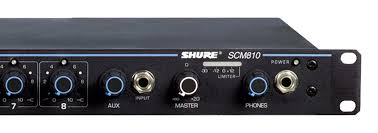 scm810 eight channel automatic mixer Shure SM58 Wiring-Diagram at Shure 810 Handheld Speaker Microphone Wiring Diagram