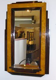 art deco bedroom furniture. two-toned stepped art deco mirror bedroom furniture m