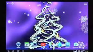 3d Christmas Tree Live Wallpaper For Android Phones Free