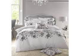 holly willoughby chloe grey duvet cover double to enlarge