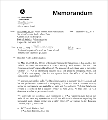 announcement format 15 audit memo templates free sample example format download