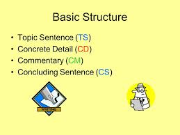 Schaffer Model Of Writing Moore Basic Structure Topic