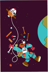 wijtze valkema s portfolio work astronaut