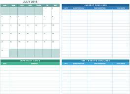 Event Planning Calendar Template 24 Free Marketing Calendar Templates For Excel Smartsheet 6