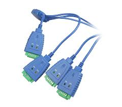 4 port industrial usb to rs 422 485 serial adapter cable 3kv rs 422 485 connectors