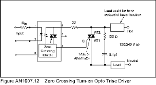 controllers and controlling electric power ssr using zero crossing triggering