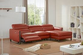 genuine and italian leather corner sectional sofas contemporary style