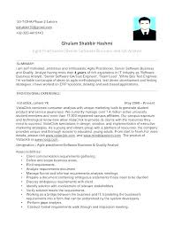 Senior Qa Engineer Sample Resume Beauteous Senior Qa Engineer Sample Resume Magnificent Software Qa Resume