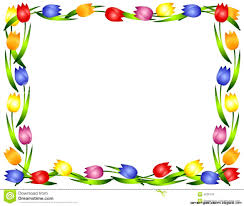 spring flowers border clipart. Exellent Border View Original Size Spring Borders Clip Art Image Source From This Throughout Flowers Border Clipart B