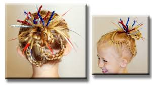 Fourth Of July Hairstyles Cute 4th Of July Hairstyle Cute Girls Hairstyles Youtube